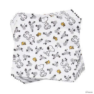 Papierserviette Snoopy Allover