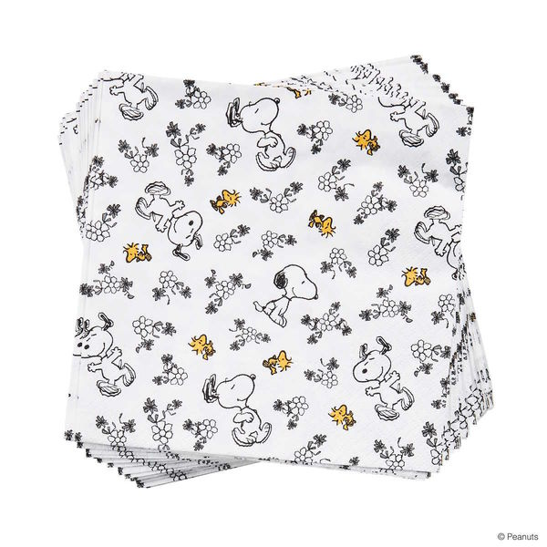 Papierserviette Snoopy Allover