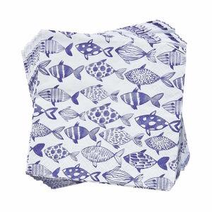 Papierserviette Fische