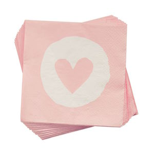 Papierserviette Heart