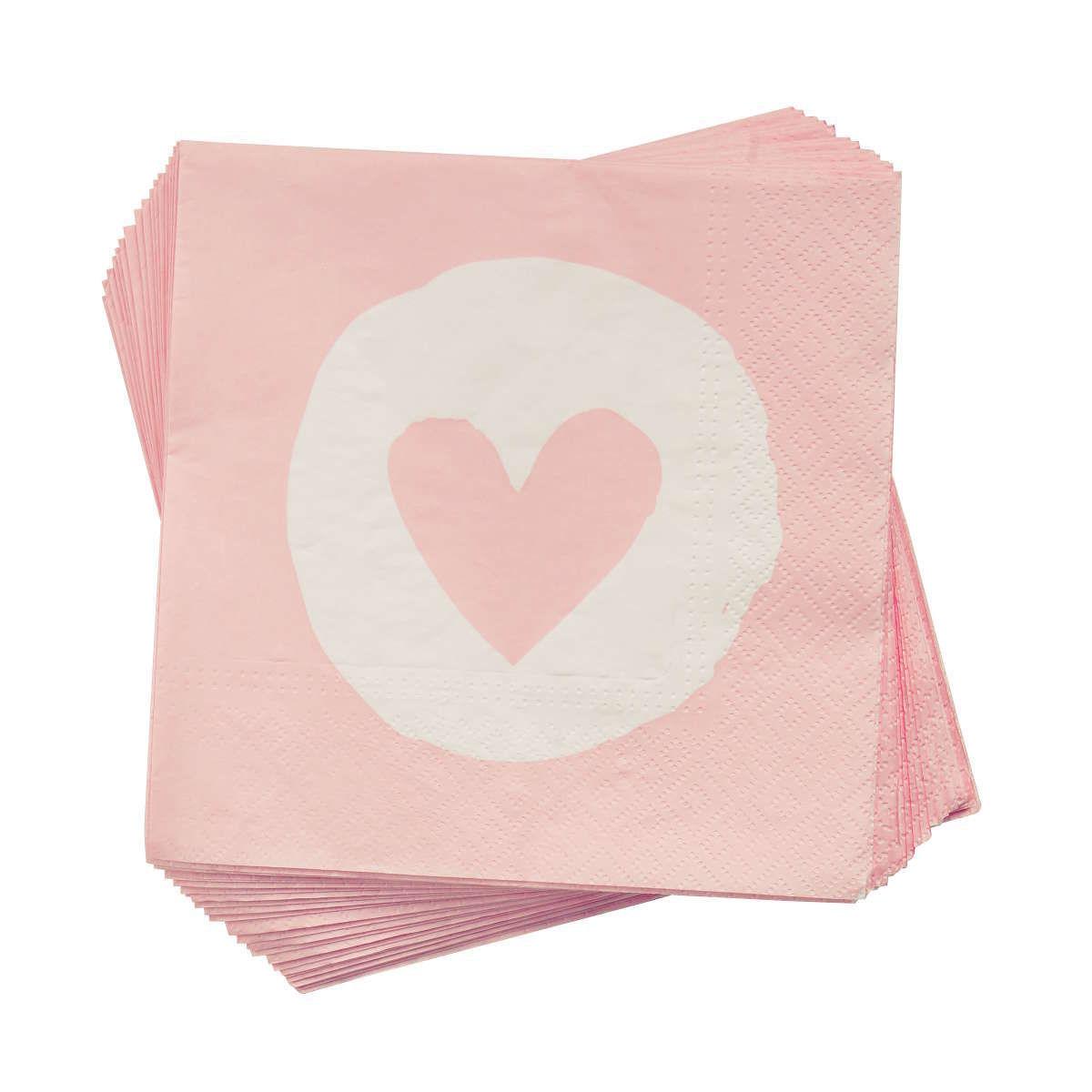 Bild 1 von Papierserviette Heart