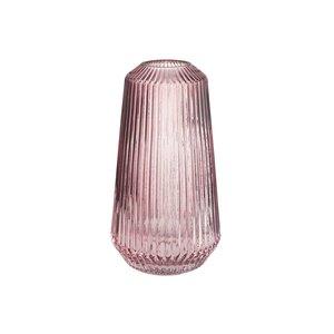 Vase gerillt Höhe 25 cm