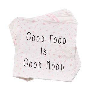 Papierserviette Good Food is Good Mood
