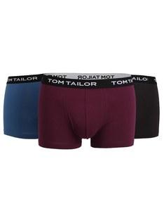 TOM TAILOR - Pants mit Webbund 3er Pack