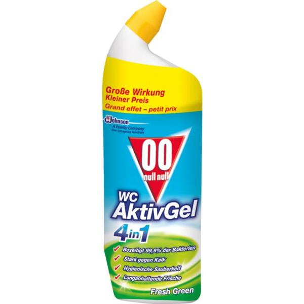 00 Null Null WC AktivGel 4in1 Fresh Green 1.99 EUR/1 l