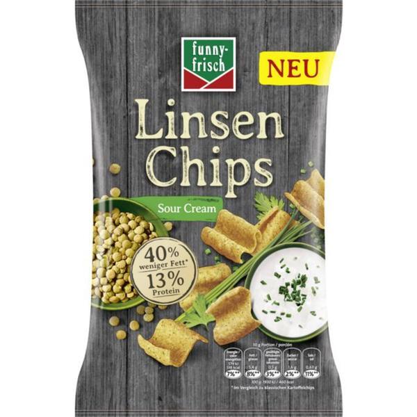 funny-frisch Linsen Chips Sour Cream 1.99 EUR/100 g
