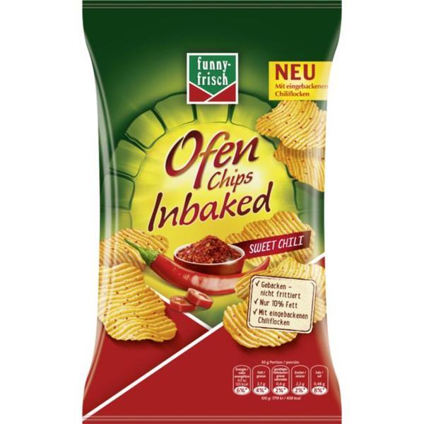 funny-frisch Ofen Chips Inbaked Sweet Chili 1.33 EUR/100 g