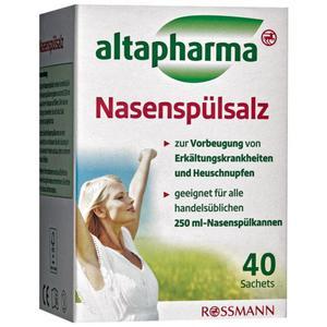 altapharma Nasenspülsalz