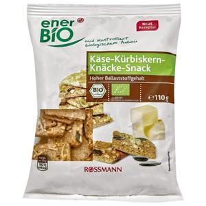enerBiO Bio Käse-Kürbiskern-Knäcke-Snäck 1.54 EUR/100 g