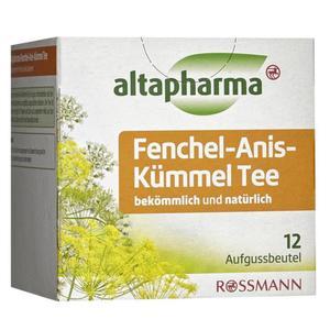 altapharma Fenchel-Anis-Kümmel Tee 3.29 EUR/100 g