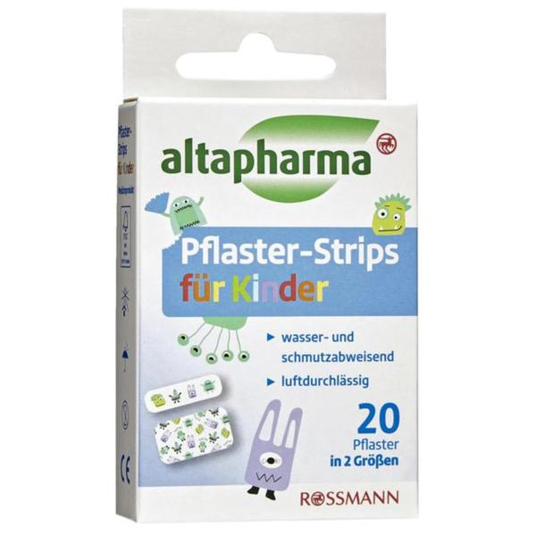 altapharma Pflaster-Strips für Kinder 20 Stück