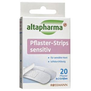 altapharma Pflaster-Strips sensitiv 20 Stück