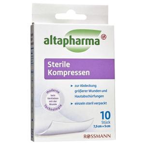 altapharma Sterile Kompressen 10 Stück