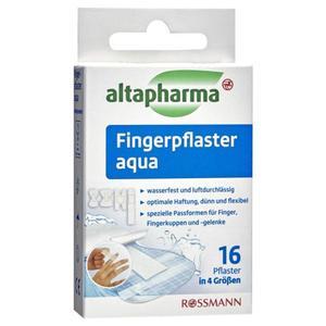 altapharma Fingerpflaster aqua 16 Stück