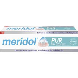 meridol PUR Zahnpasta 5.32 EUR/100 ml