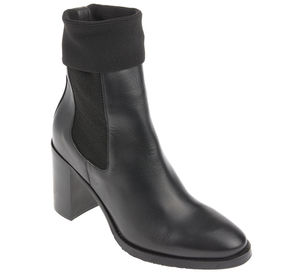 Tommy Hilfiger Stiefelette - KNITTED HEELED BOOT LEATHER