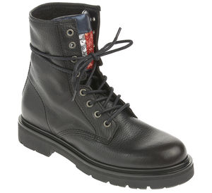 Tommy Jeans Schnürboots - BIG FLAG SPARKLE LACE UP BOOT