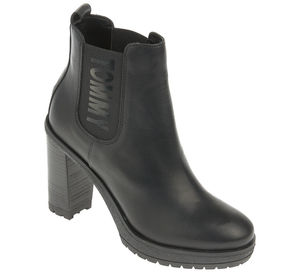 Tommy Jeans Chelsea-Boots - ESSENTIAL HEELED CHELSEA BOOT