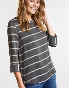 CECIL - Bluse im modernen Streifendesign
