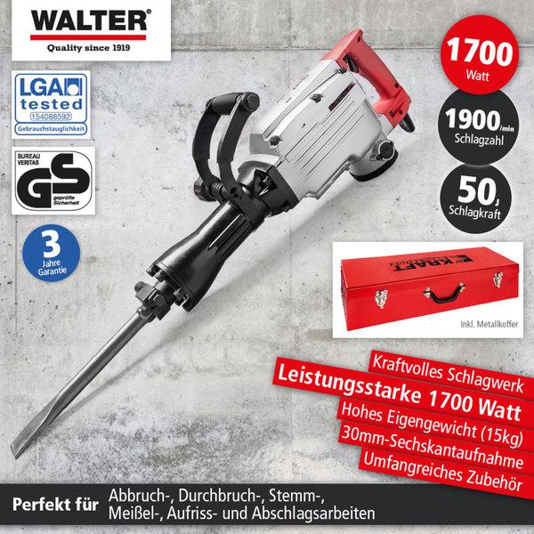 Walter Stemm- und Abbruchhammer 1700W