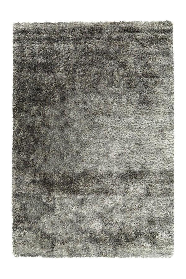 Arte Espina Teppich Grace Shaggy Blaugrau 160cm x 230cm