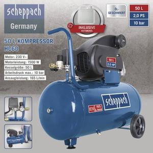 Scheppach Kompressor HC60 50L