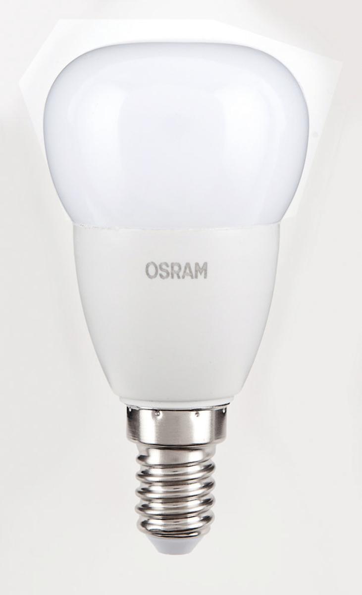 Bild 1 von Osram LED Leuchtmittel 6er Tropfen 5,7 W / 827 FR E14