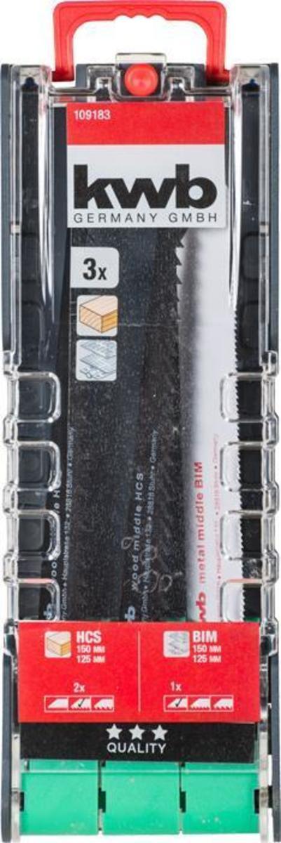 Bild 2 von kwb PowerBox Säbelsägeblatt-Satz