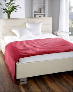 Dreamtex XXL-Allzweckdecke Cashmere-Touch Mountain ca. 220 x 240 cm Rio Red