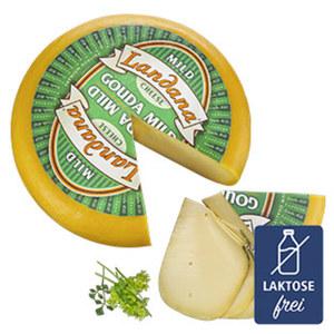 Landana mild Holländischer Schnittkäse, 48 % Fett i. Tr., je 100 g