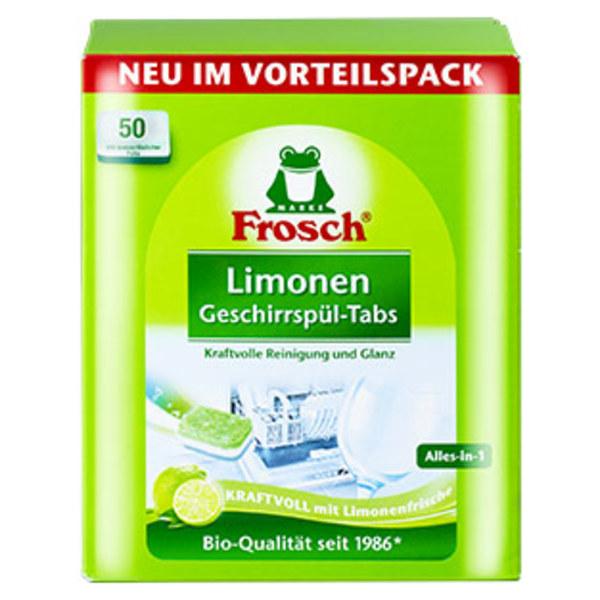 Frosch Limonen Geschirrspül-Tabs 50er, jede Packung