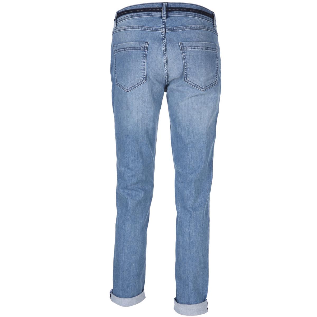 Bild 2 von Damen Jeans in 5-Pocket-Form mit Gürtel