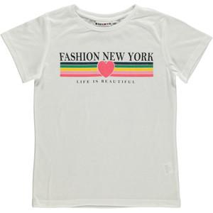 Mädchen Shirt mit Glitzer Print