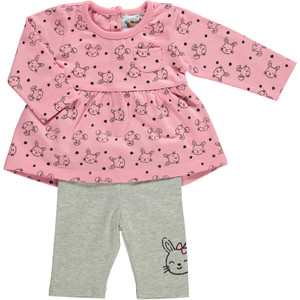 Baby Set 2tlg. mit Allover Print