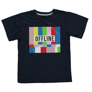 Jungen Shirt mit großem Print