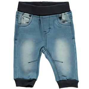 Baby Jogging Jeans mit Strickbündchen