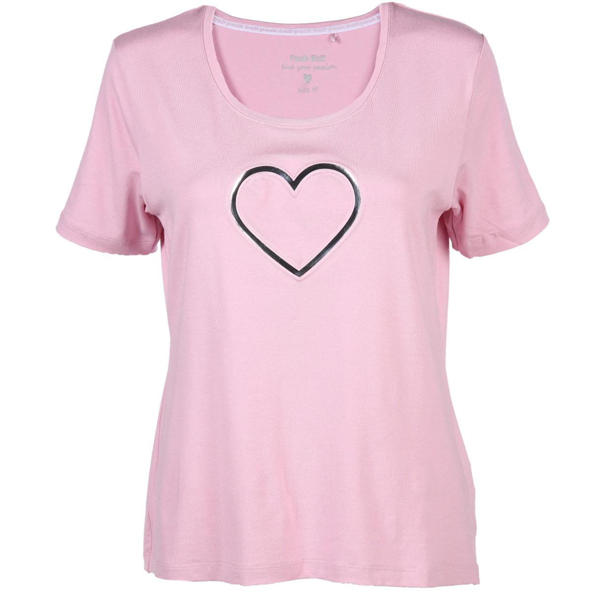 Bild 1 von Damen Sport Shirt mit Präge Print