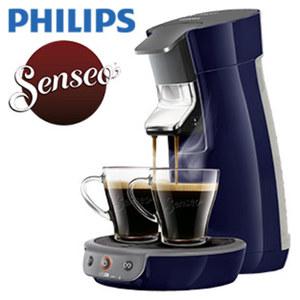 Kaffee-Padautomat  Viva Café HD 6561/50 · frisch gebrühter Kaffee in weniger als 60 sec · Crema Plus: für eine feine, samtige Crema