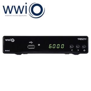 DVB-S2-Sat-Receiver Trinity mehrsprachiges Bildschirmmenü, EPG, DiSEqC 1.0/1.1, HDMI-/USB-/Ethernet-/Scart-Anschluss