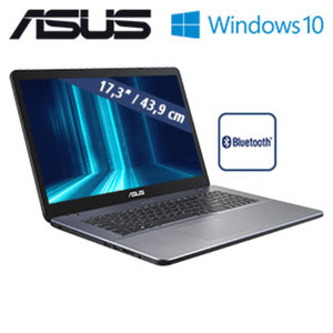 Notebook F705MA · blendfreies HD+-Display · Intel® Pentium® Silver N5000 (bis zu 2,7 GHz) · Intel® UHD Graphics 605 · USB 3.1 Type-C, USB 3.0, USB 2.0