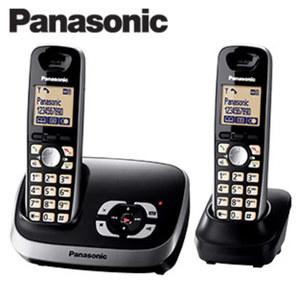 Schnurlos-DECT-Telefon KX-TG6522 Duo · Telefonbuch für 100 Einträge · Standardakkus · digitaler Anrufbeantworter