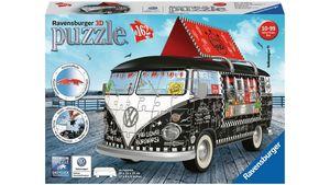 Ravensburger Puzzle - 3D Puzzle-Sonderformen - Volkswagen T1 - Food Truck, 162 Teile