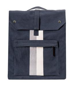 Backpack blau  bedruckt designed by MICHALSKY