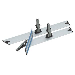 Nilfisk Mopphalter Aluminium 230mm Grau