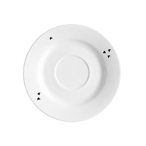 Zauberwerk - 'Infinity' Kaffeeuntere ø 15,5 cm, weiß/schwarz (1 Stück); 56372