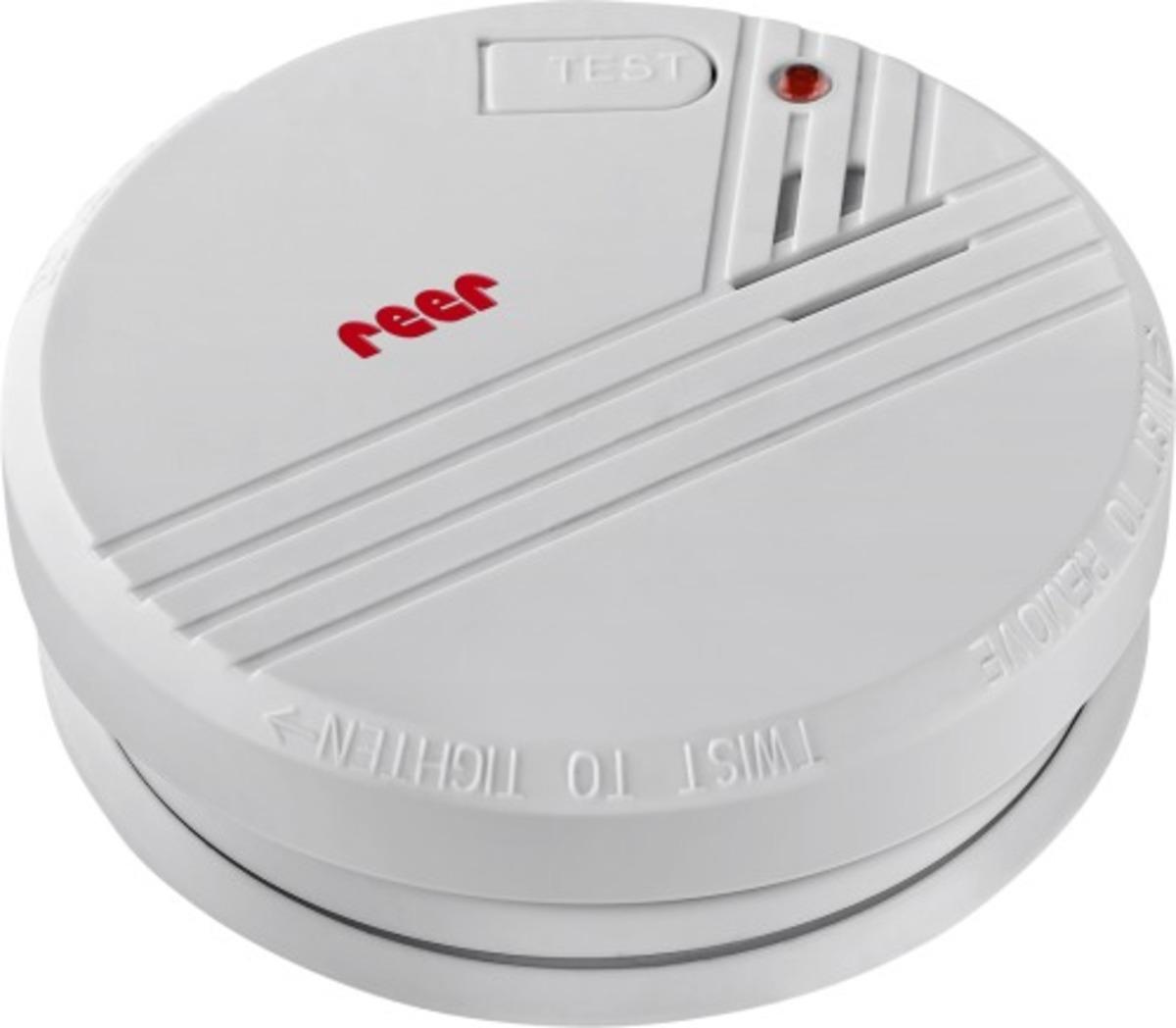 Bild 1 von reer Rauchmelder inkl. 9V Batterie