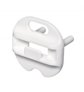 Steckdosenkappe Steckdosenschutz abnehmbar 6 Stück weiß