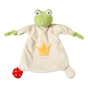 NICI Schmusetuch Frosch Schnuckeltuch Tuch Babytuch Baby Nuckeltuch 25 x 25 cm