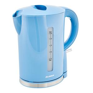 ALASKA Wasserkocher WK 2209 DSB 1,7 l, 2.200 W, Farbe Hellblau