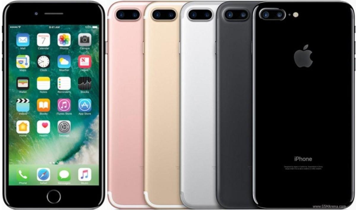 Bild 1 von Apple iPhone 7 Plus -128 GB, 14 cm (5,5 Zoll), Jet Black